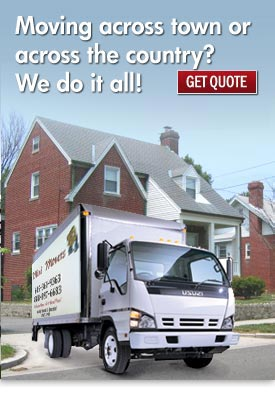 We've moved people all across the country. Click Here to get an online shipping quote.